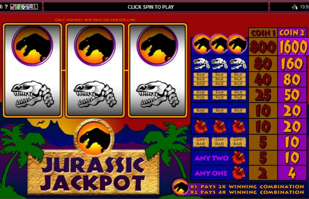 Jurassic Jackpot Receive Jackpot from Lizards