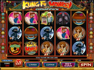 Kung Fu Monkey slot casino