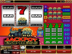 Jackpot Express Casino Game