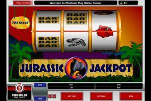 jurassic jackpot casino game